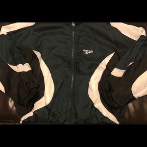 Vintage XL Reebok Zip Up Jacket